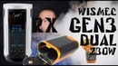 WISMEC Reuleaux RX GEN3 Dual 230W with Gnome King Kit Детальный обзор и сравнение c папой
