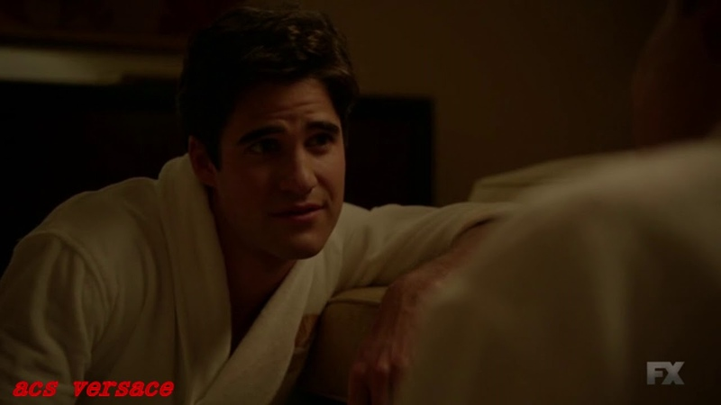 American Crime Story Versace 2x07 David and Andrew spend the night together Gay scene HQ