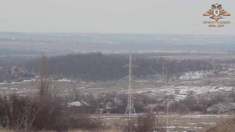 Подземные укрепления НМ ДНР на Ясиноватском направлении.
