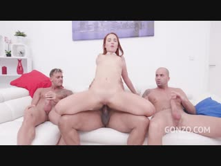Lili sommer first dp with monster cock team