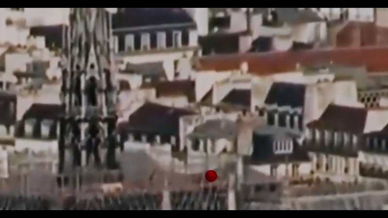 Mystery figure on Notre Dame Rooftop before fire