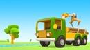 Vehículos de servicio Un camión especial Dibujos animados español