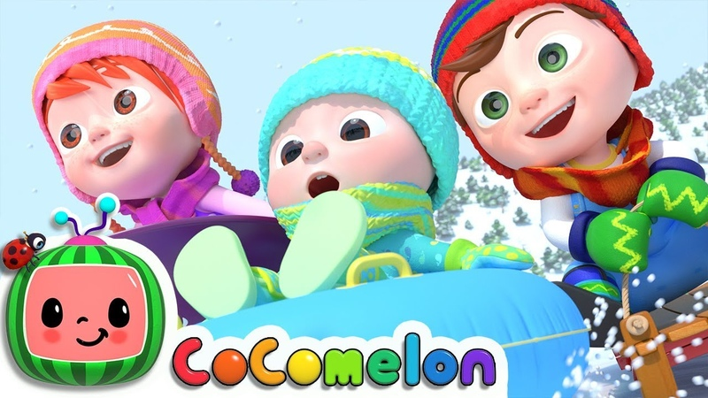 Winter Song Fun in the Snow CoCoMelon Nursery Rhymes Kids Songs