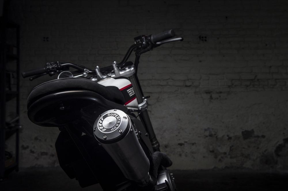 Toma Customs: кастом Honda FMX650