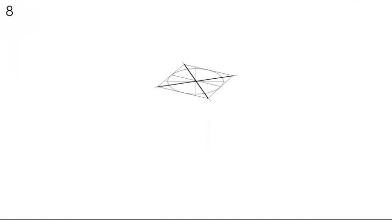 Как нарисовать куб правильно - How to draw a cube correctly