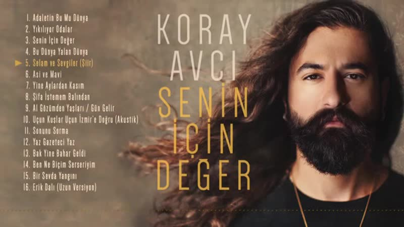 Koray Avcı - Selam ve Sevgiler (Şiir) (Official Audio).mp4