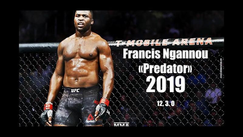 Francis Predator Ngannou - All UFC HighlightsKnockoutMomentsᴴᴰ