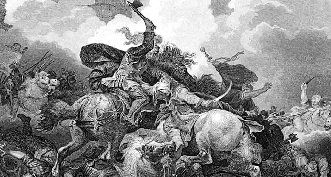 Крестоносцы в атаке