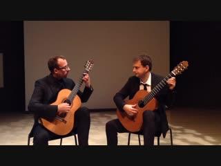 810 J. S. Bach - English Suite No.5 in E minor, BWV 810 - Montenegrin Guitar Duo