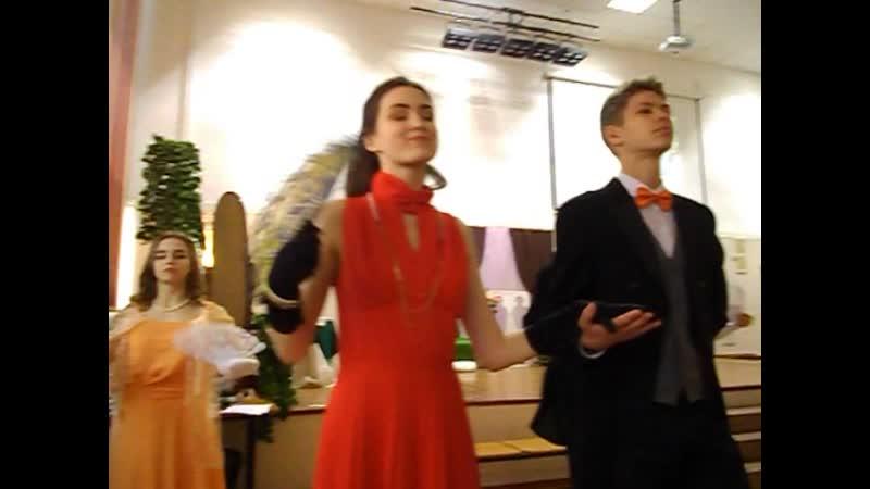 Спектакль Анна Каренина в 15 школе города Апатиты