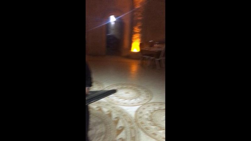 Uranos Sarıkaya restoran. Kapadokya