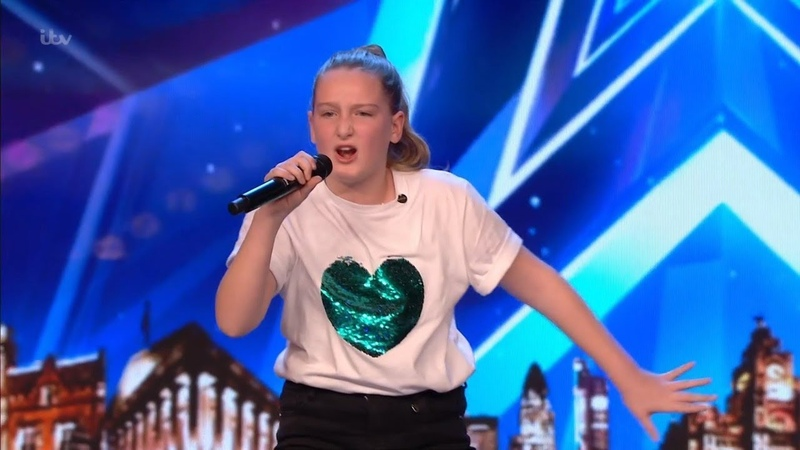 Britains Got Talent 2019 10 Year Old Singer Giorgia Borg Wows The Audience Full Audition S13E04