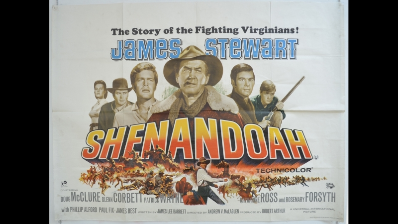 Shenandoah 1965 James Stewart Doug McClure Glenn Corbett