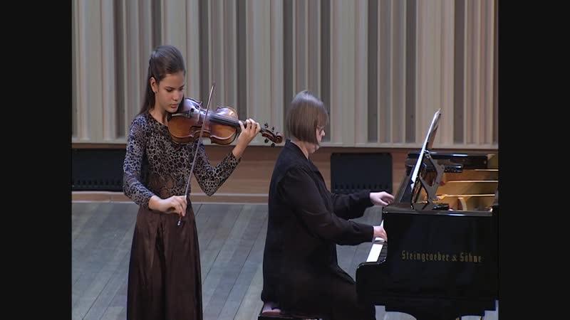 Концерт класса Е В Баскиной НСМШ