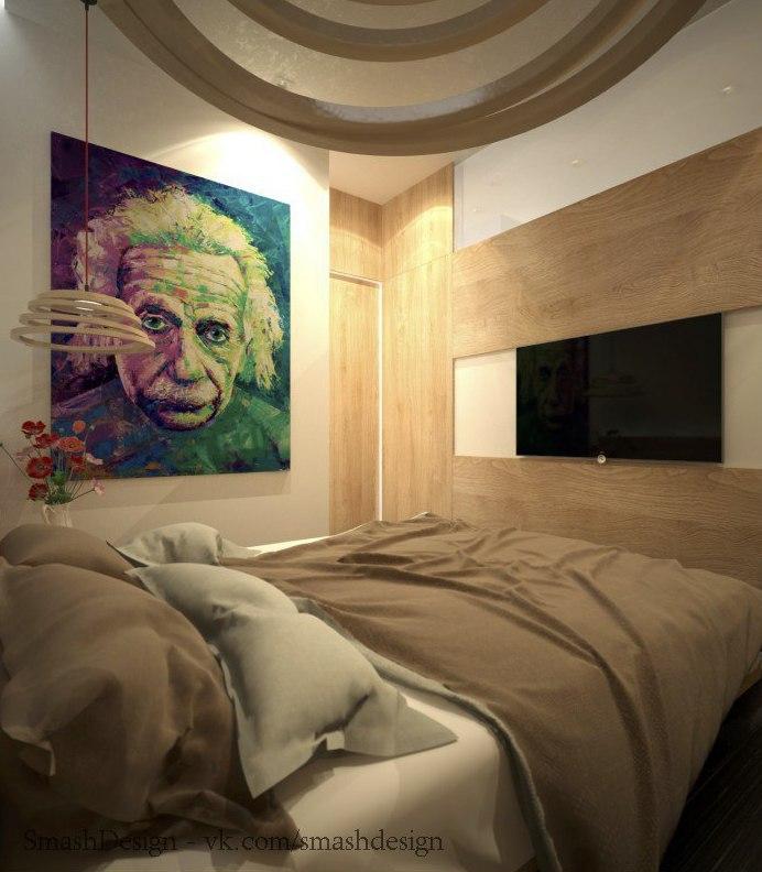 Дизайн небольшой квартиры.