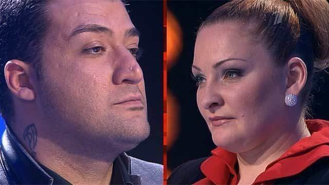 Оксана Петрова иАчи Пурцеладзе Мой друг играет блюз Голос 1 Поединки Фрагмент выпуска от16 11 2012