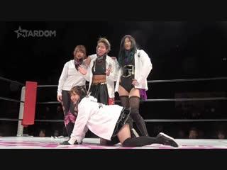 Hana Kimura & Mary Apache vs. Oedo Tai (Hazuki & Natsu Sumire)