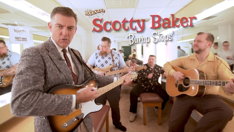 'Bump Stops' SCOTTY BAKER w the DOEL BROTHERS Rockin' Race Jamboree BOPFLIX sessions