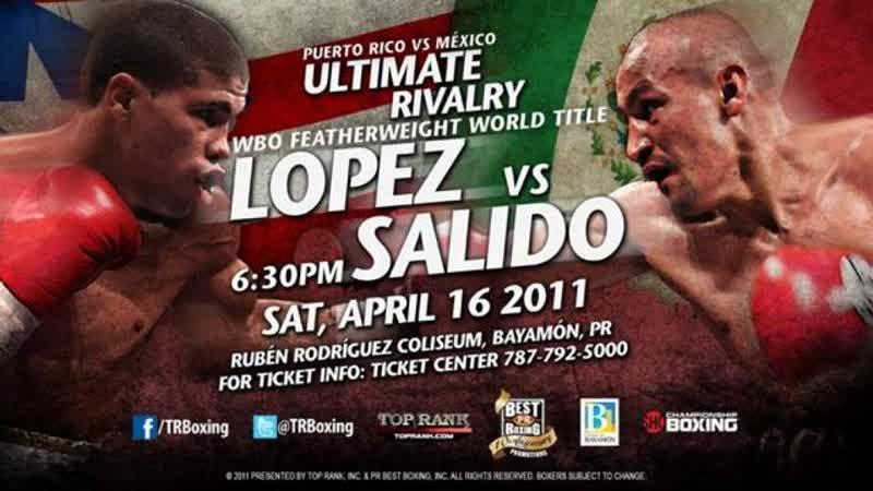Орландо Салидо - Хуан Мануэль Лопес Juan Manuel Lopez - Orlando Salido I