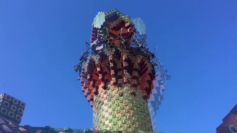 : El Capricho de Gaudí.Comillas.Ель Капричо.Антонио Гауди.
