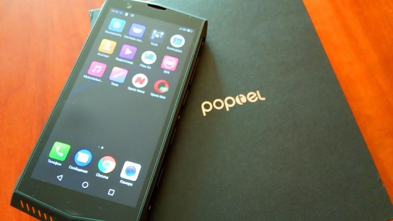 ⚡ POPTEL P60 защищенный телефон IP68 в котором есть всё Распаковка