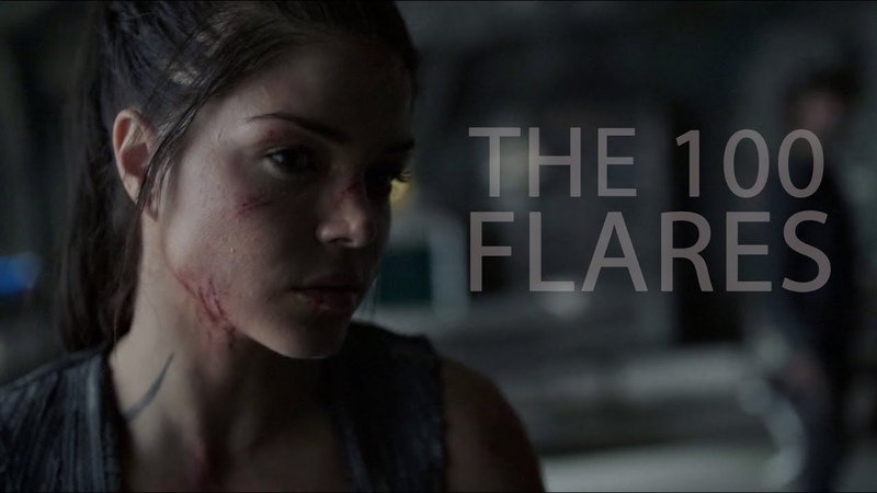 The 100 || Flares (4x13)