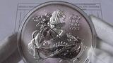 Шедевр монетного двора Великобритании,СвятойГеоргий побеждающий дракона,10 унций,проба999,9