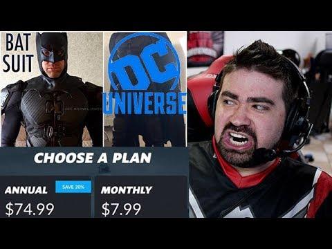 DC Universe App Batman Reveal - Angry Rant!