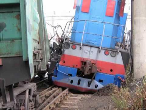 Столкновение при маневрах на станции Свердловск-сортировочный 2009.07.07