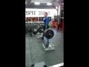 Становая тяга в комбезе с плинтов 240 кг на 2 повторения