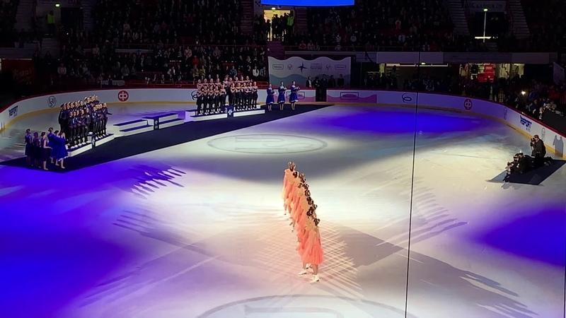 Medal Ceremony World Synchro Helsinki 2019 4K