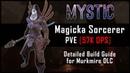 Magicka Sorcerer Build 57k DPS Murkmire DLC