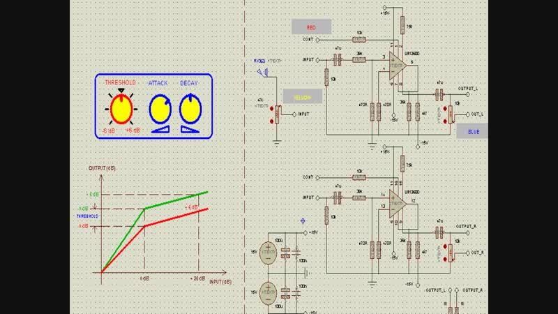 Схемотехника в PROTEUS_е - примочка, лимитер и dc/DC