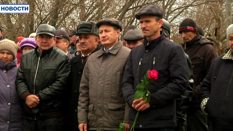Память жителей деревни Мрясимово, павших в годы ВОВ, увековечил новый памятник