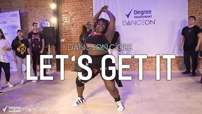 Degree X DanceOn | Jordyn Carter - Let's Get It | Tricia Miranda Choreography | Sponsored