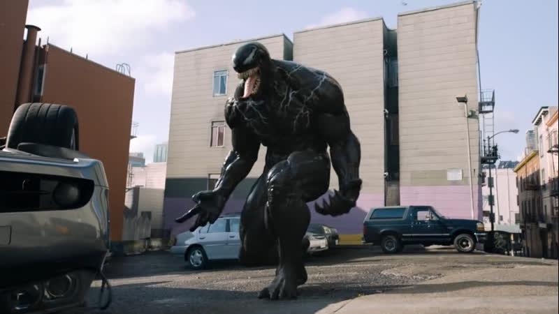 «Веном» показал первую удаленную сцену с боевым симбиотом