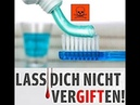 Ist Fluorid im Trinkwasser Zahnpasta Wasserflaschen Schaut mal nach