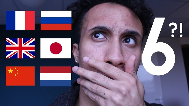 SPEAKING 6 LANGUAGES! (Chinese, Russian, French, Japanese, Dutch, English)