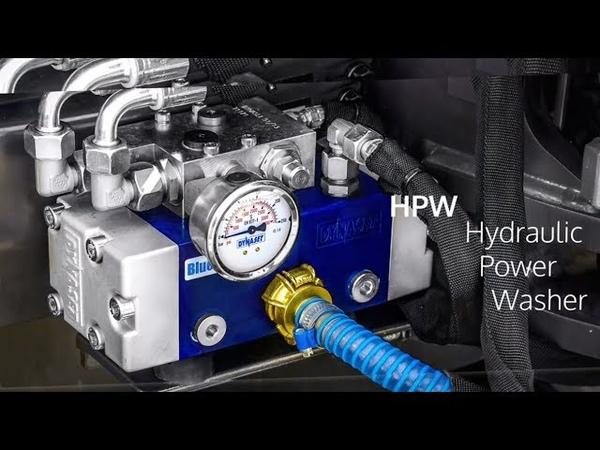 Насос высокого давления DYNASET HPW с гидравлическим приводом как это работает