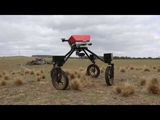 SwagBot autonomous weed spraying demo