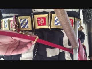 Как одеть доспехи конца 14-го века