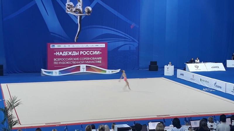 ● Анастасия Симакова Булавы Надежды России 2018