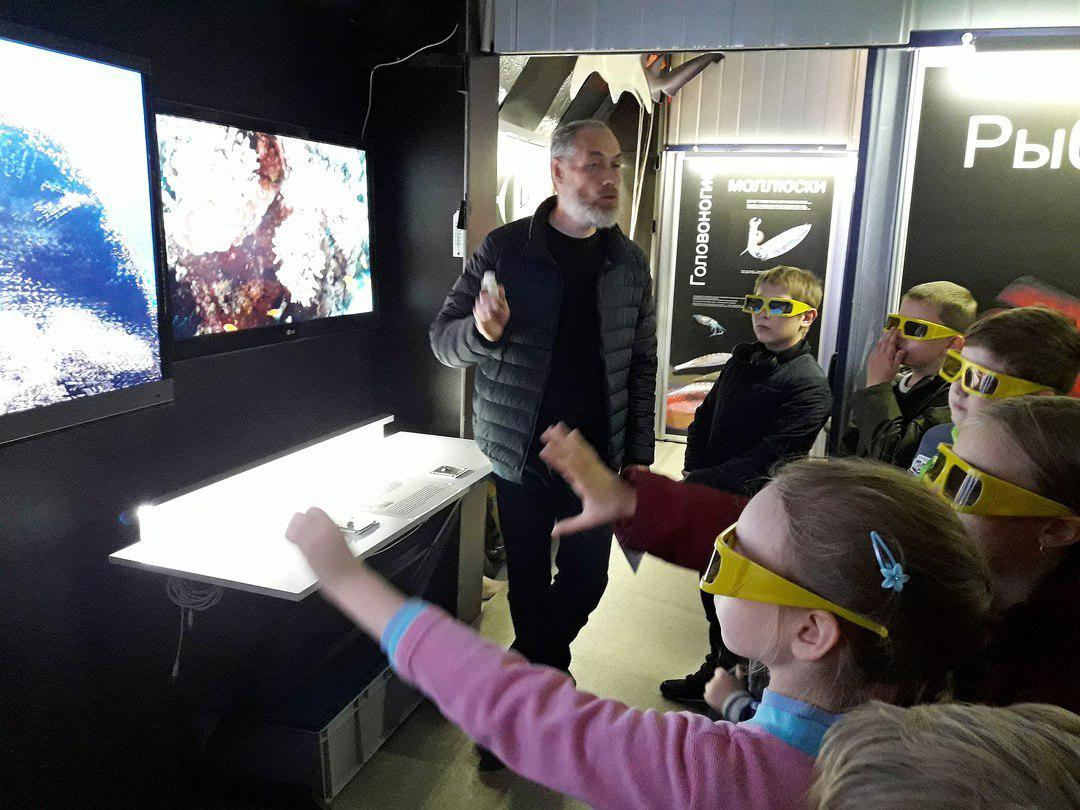 Третьеклассники из Лианозова посетили музей «Коралловый риф»