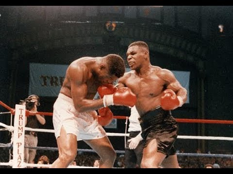 Iron Mike Tyson Stops Tyrell Biggs This Day October 16 1987 Retains Heavyweight Crown