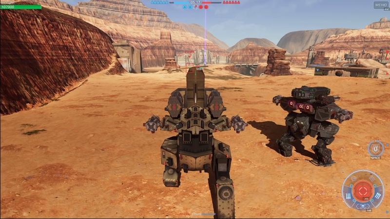 War Robots Steam Сanyon Amazing Graphics (Beta)