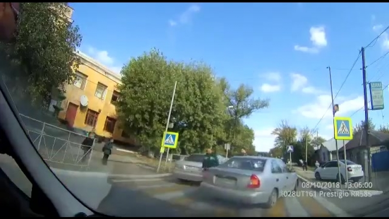 ДТП в мкр Лиховском. Каменск-Шахтинский. 9 октября.