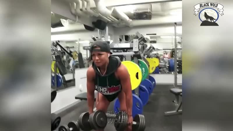 СуперМЕНША из ШВЕЦИИ - Sophie Arvebrink - Фитнес мотивация