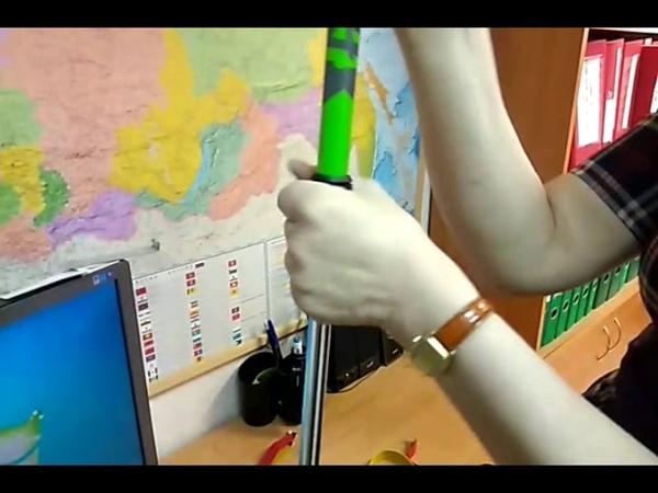 Как настроить жёсткость палок для скандинавской ходьбы Эластик Энерджи