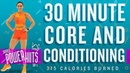 30 Minute HIIT Core and Conditioning Workout! 🔥Burn 315 Calories!* 🔥Sydney Cummings