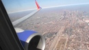 Beautiful Winter HD 737 Departure from Chicago Midway